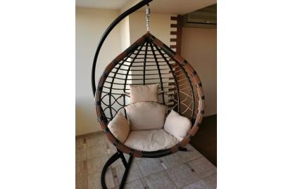 подвесное кресло фото