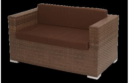 Grand диван 2-местный из искусственного ротанга