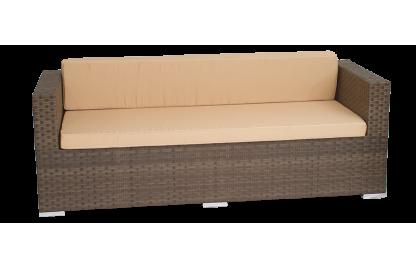 Grand диван 3-местный из искусственного ротанга