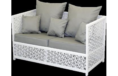 VEIL диван 2-местный из искусственного ротанга