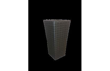 Кашпо из искусственного ротанга GRAND
