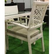 Klermon кресло ажурное из искусственного ротанга