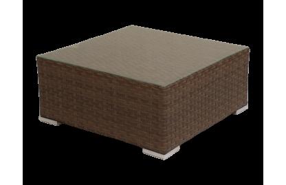 Grand стол/пуф из искусственного ротанга