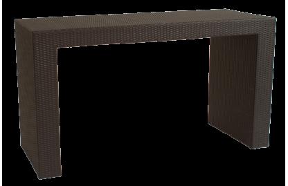 Pont стол барный из искусственного ротанга