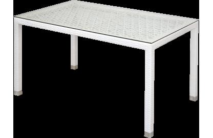 Turin ажурный стол обеденный прямоугольный из искусственного ротанга