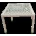 Стол обеденный из искусственного ротанга Turin ажурный